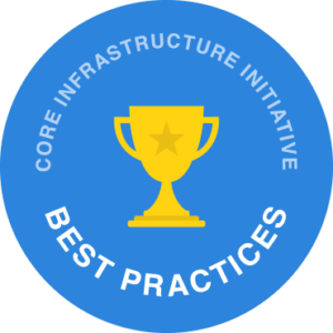 Core Infrastructure Initiative Best Practices logo