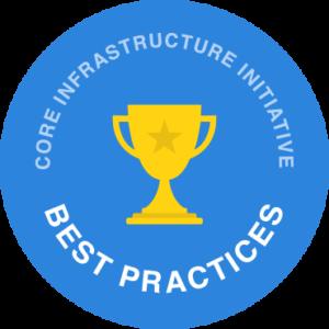 Core Infrastructure Initiative Best Practices logo